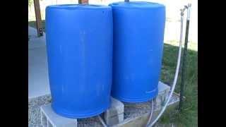 Rain Barrels - Improved Design