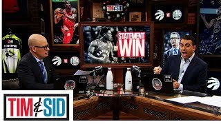 Sid Officially Calls It: Raptors Are Headed To The Finals! | Tim and Sid