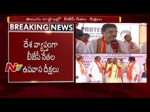Kambhampati Hari Babu Comments on CM Chandrababu & TDP || BJP Hunger Strike in Vizag || NTV