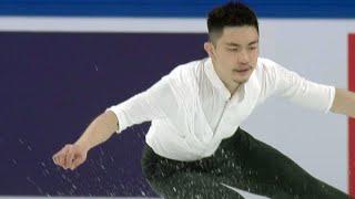 Хань Янь. Короткая программа. Мужчины. Shiseido Cup of China. Гран-при по фигурному катанию 2019/20