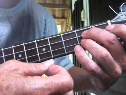 Wave Ukulele Jazz Chord Melody Lesson Part 1wmv Youtube