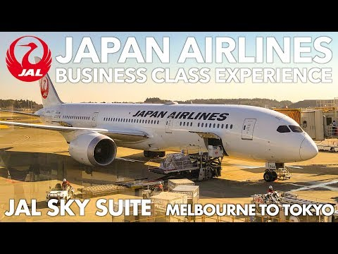 Best Business Class Seats to Japan | Japan Airlines | MELBOURNE TO TOKYO - JL774