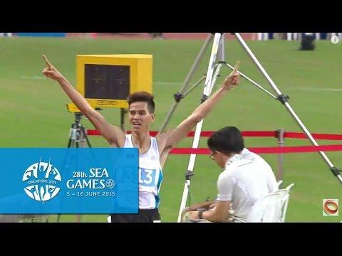 Athletics Mens 1500m Final (Day 6) | 28th SEA Games Singapore 2015