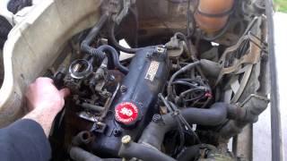Remise en route Renault Super5 TR ex-Autoécole