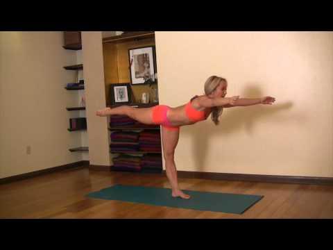 Digasana, Warrior III with Kino Yoga