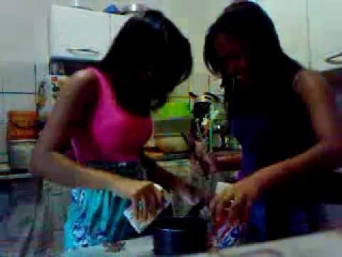 Fazeendo Chocolate com Naty Gomes (: