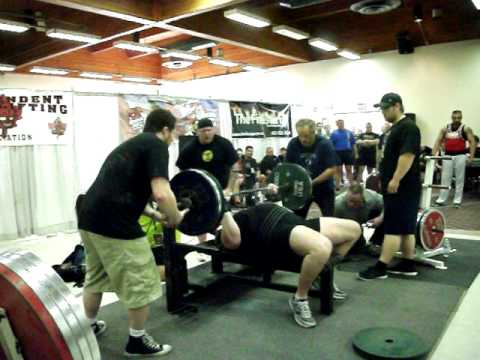 Chad Shiel first Canadian to Bench Press over 500lbs Raw