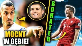 Zlatan ZAORAŁ Ronaldo! Lewandowski BOHATEREM! Uratował Bayern!