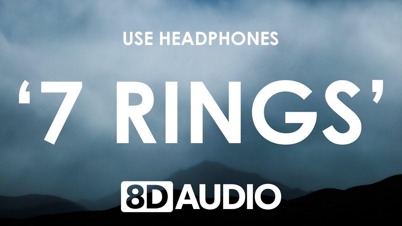 Download Ariana Grande - 7 rings (8D AUDIO) 🎧