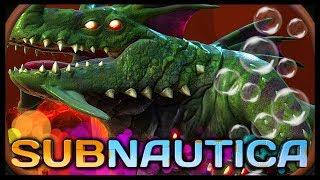 LAVA ZONE SEA DRAGON LEVIATHAN!! | Subnautica #22 (Full Release)