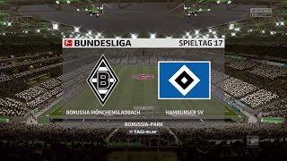 FIFA 18 Bundesliga Prognose   Borussia Mönchengladbach - Hamburger SV