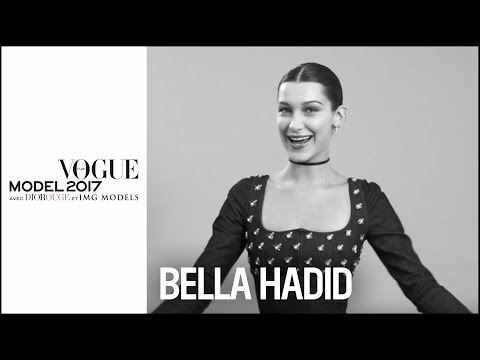 Bella Hadid : How to be a perfect model ?  | VOGUE MODEL 201