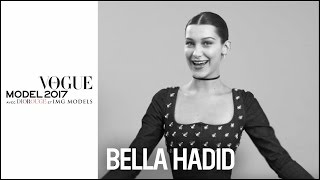 Bella Hadid : How to be a perfect model ?  | VOGUE MODEL 2017