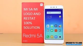How to fix stuck on boot start screen problem in xiaomi