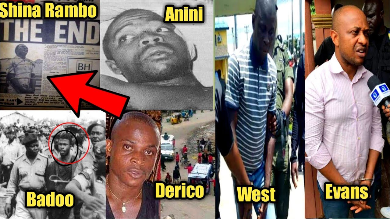 Download Ten Most notorious criminals in the history of Nigeria||Their Shocking Untold  stories.