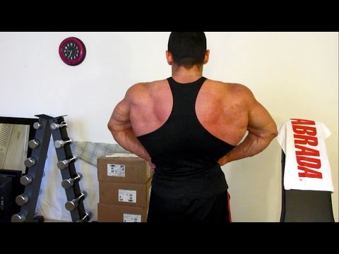 Chest, Back & Calves Short Bodybuilding Training Routine – Workout Vlog 42