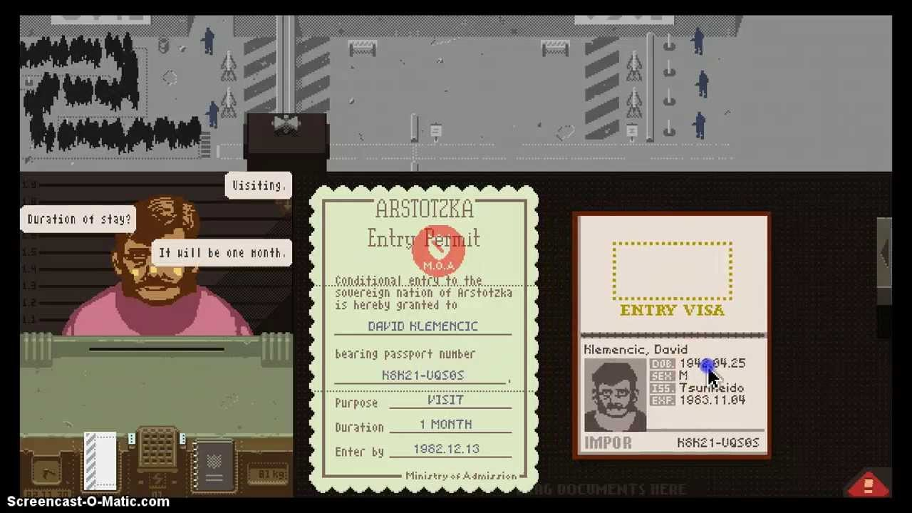 Ezic Gift Papers Please - Image Mag