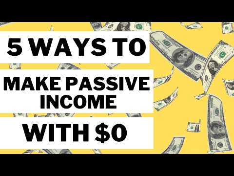 How to Make Money Online - 5 Genuine Ways to Make Passive Income