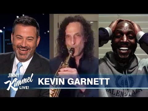 Kevin Garnett on Trash Talking Michael Jordan, Friendship with Kobe & Surprise from Kenny G