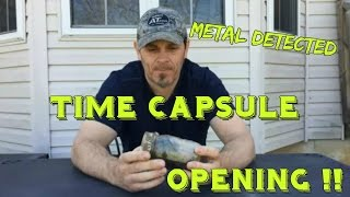 Opening a Mysterious Witches Spell Jar / Time Capsule Found Metal Detecting