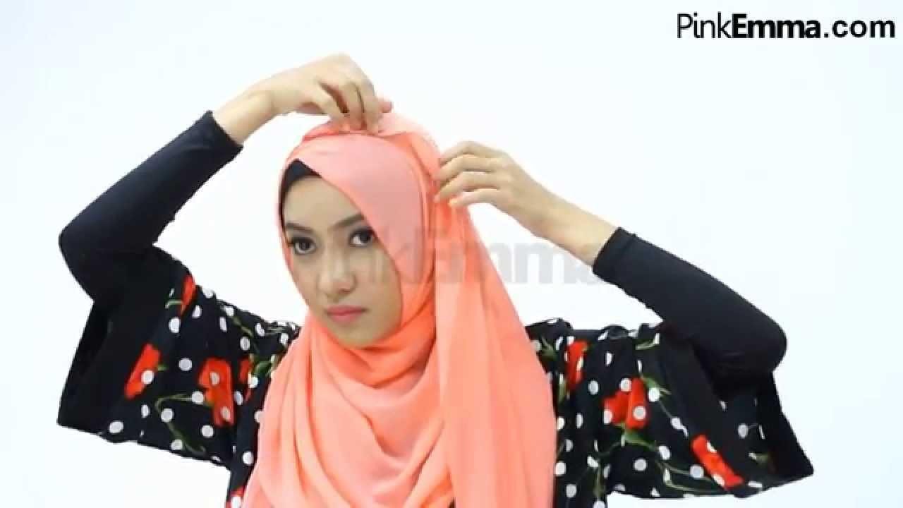 Tutorial Hijab Untuk Membuat Wajah Terlihat Tirus  YouTube