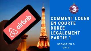Gambar cover Comment louer légalement sur AIRBNB à Paris partie 1