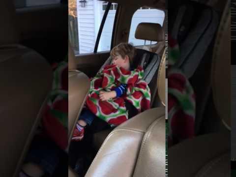 Little Isaac sleeping