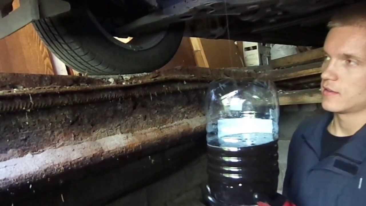 Замена масла в двигателе. Как правильно. Ресурс ДВС +40%