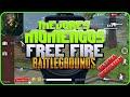 MEJORES MOMENTOS #2 - FREE FIRE BATTLEGROUNDS !! - HIGHLIGHTS BATTLE ROYALE/MIRILLA X4 - X2 - PvP