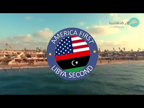 America first Libya second (official)
