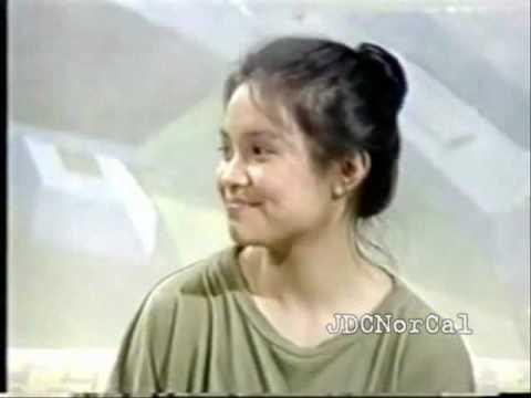 Lea Salonga's Miss Saigon audition........