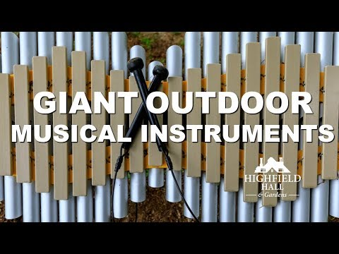 Giant Outdoor Musical Instruments