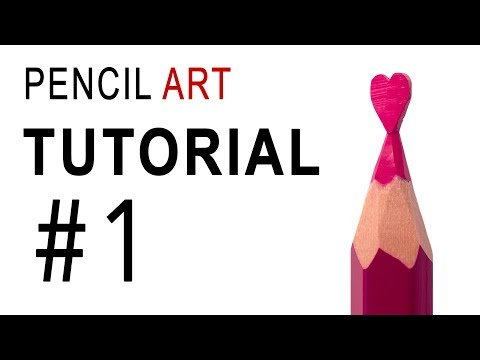 Pencil Art. Tutorial #1. How To Make The HEART