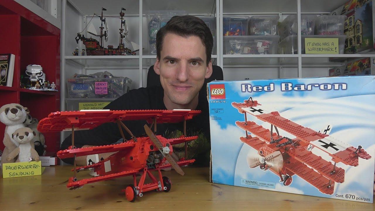 Ein ganz friedliches Rettungsflugzeug: LEGO® Sculptures 10024 Red Baron
