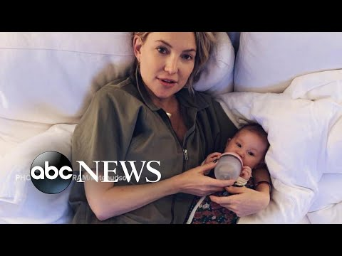 Kate Hudson says she's raising her 1st daughter 'genderless'