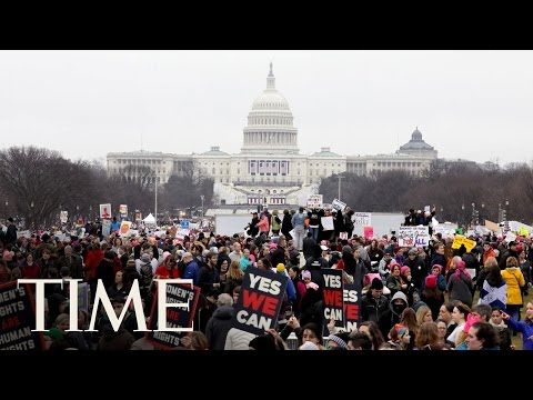 A Look At The Women's Marches Across The World | TIME