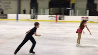 Anthony and Lydia - First Pair Skating Performance