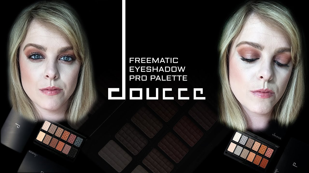 cd1fa547e04 Doucce Freematic Eyeshadow Pro Palette Review + Demo | Rylene Hindley