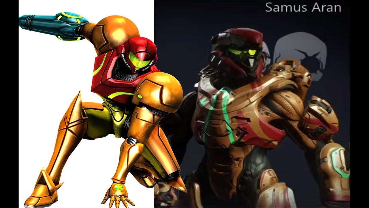 Samus Armor em Halo - Nintendo Switch