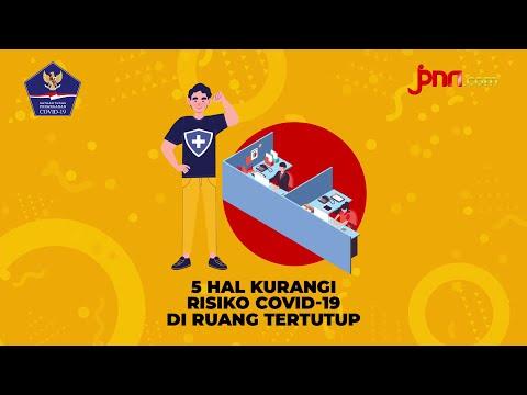 Perhatikan! 5 Hal Kurangi Risiko Covid-19 di Ruang Tertutup