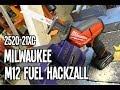 Milwaukee M12 FUEL 2520-21XC Hackzall Recip Saw