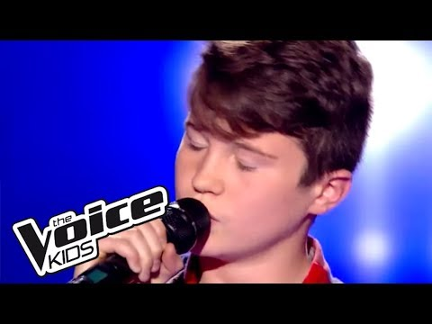 Radioactive - Imagine dragons   Axel   The Voice Kids France 2017   Blind Audition
