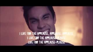 Applause (Lady Gaga) - Sam Tsui Cover (LYRICS ON SCREEN)