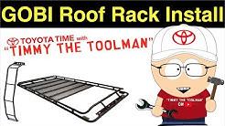 Gobi Stealth Roof Rack Install (5th Gen Toyota 4runner)
