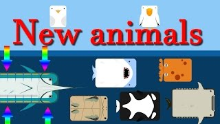 Deeeep io new animals || Is the Marlin the worst of the new animals ?