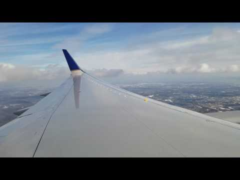 United Airlines B757-200 Approach and Landing into Newark, NJ