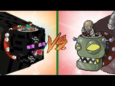 Plants vs Zombies Mod Dr. Zomboss Minecraft