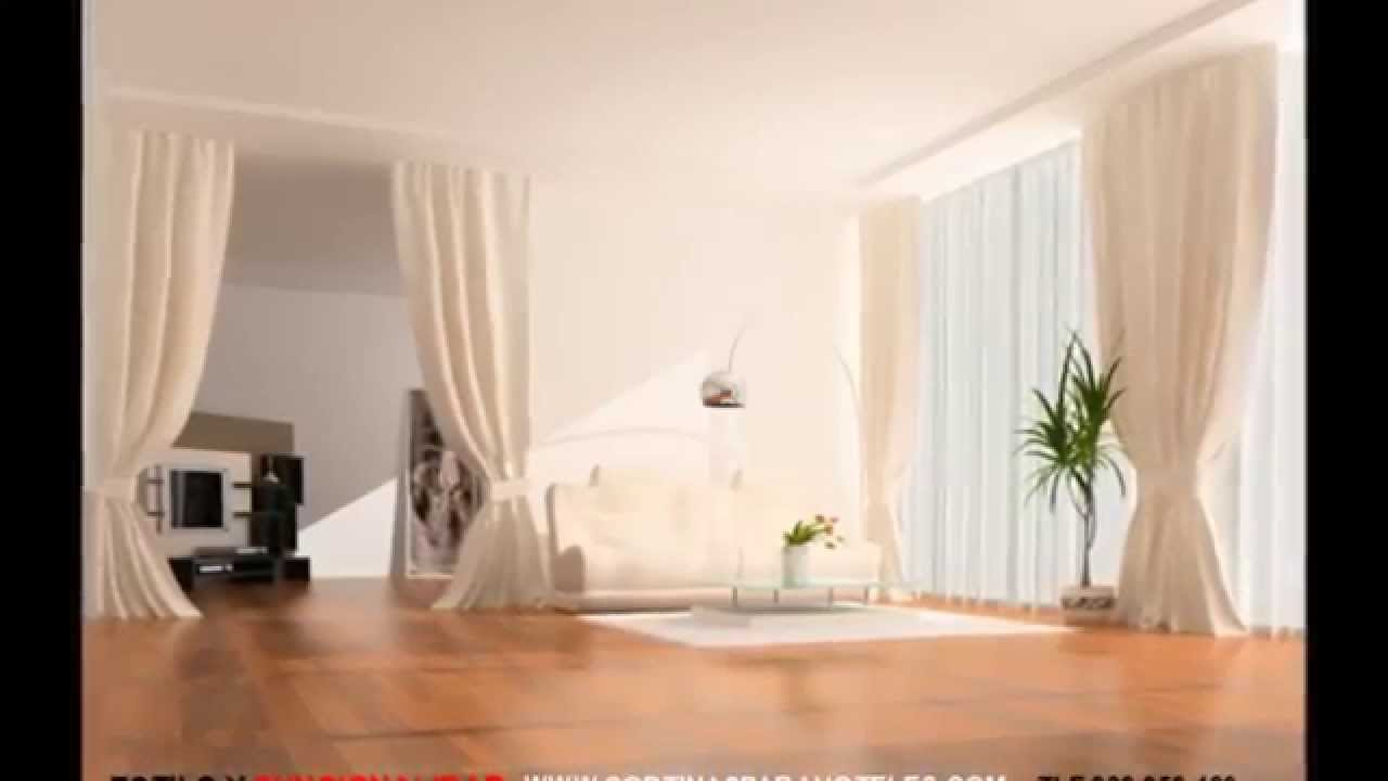 Cortinas decorativas para hoteles youtube for Cortinas decorativas
