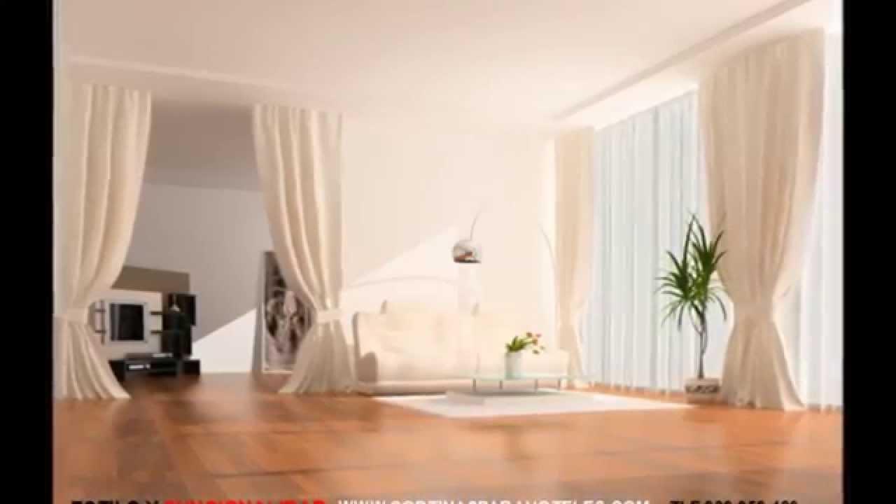 Cortinas decorativas para hoteles youtube for Cortinas espana