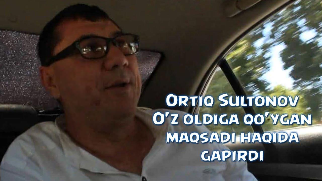 Ortiq Sultonov O'z oldiga qo'ygan maqsadi haqida gapirdi 2016